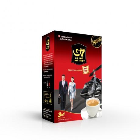 Cà phê G7 3in1 - Hộp 18 sticks 16gr